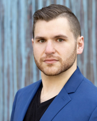 Graduate student Nick Klein, voice.