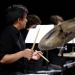 Small jazz combos perform in Brechemin on May 17 (photo: Steve Korn).