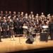 Phyllis Byrdwell conducts the Gospel Choir on Dec. 2 (photo: Gary Louie).
