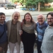 Geoffrey Boers and Choral Conducting Students in Latvia
