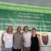 Professor Patricia Campbell with Ethnomusicology doctoral students David Aarons, Joe Kinzer, and Jocelyn Moon at the University of Dar es Salaam in Tanzania