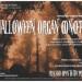 Handbill for Halloween organ concert