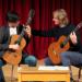 Guitarist David Russell works with UW guitar student Max Schaeffer (Photo: Dean Ritz).