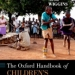 Oxford Handbook of Children's Musical Cultures