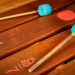 Mallets from Harry Partch Instrument collection