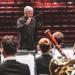 Timothy Salzman directs the UW Wind Ensemble.
