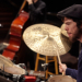UW Studio Jazz Ensemble: Big Band, drums (photo: Steve Korn)