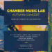 Chamber Lab concert poster