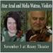 Melia Watras and Atar Arad