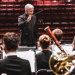 Tim Salzman conducting the UW Wind Ensemble