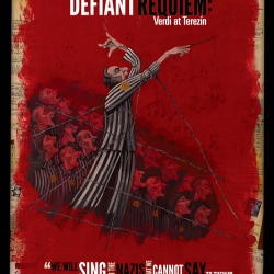Defiant Requiem poster graphic
