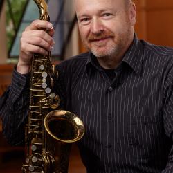 Saxophonist Michael Brockman