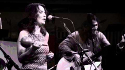 YouTube link to Video: Musician Lucia Pulido and bassist Stomu Takeishi collaborate.