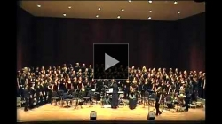 YouTube link to University of Washington Gospel Choir: Solid Rock
