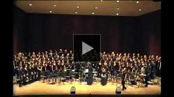YouTube link to University of Washington Gospel Choir: Solid Rock