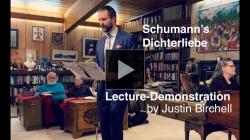 YouTube link to DICHTERLIEBE: THE POETICS OF LONGING - Schumann, Heine...Ghazal? ; lecture-demo by Justin Birchell