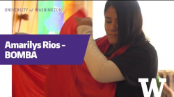 YouTube link to Amarilys Rios on 'bomba'