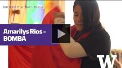YouTube link to Amarilys Rios on 'bomba'