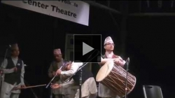 YouTube link to Newar Music Performance in Northwest Folklife Festival 2016