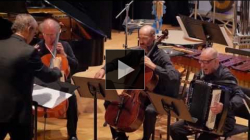 YouTube link to Huck Hodge: Alêtheia at the New York Philharmonic Biennial