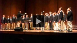 YouTube link to UW Men's glee club: Carol Fest 1