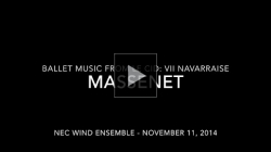 YouTube link to Massenet - Le Cid: VII Navarraise