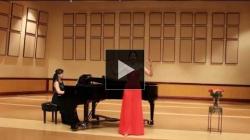 YouTube link to Les oiseaux dans la charmille (Doll's Aria) - Sarah's Senior Recital