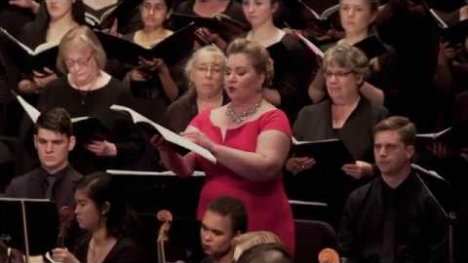 YouTube link to University of Washington Symphony and Combined Choirs: Benjamin Britten, War Requiem, Op. 66