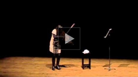 YouTube link to Melia Watras Improvisation
